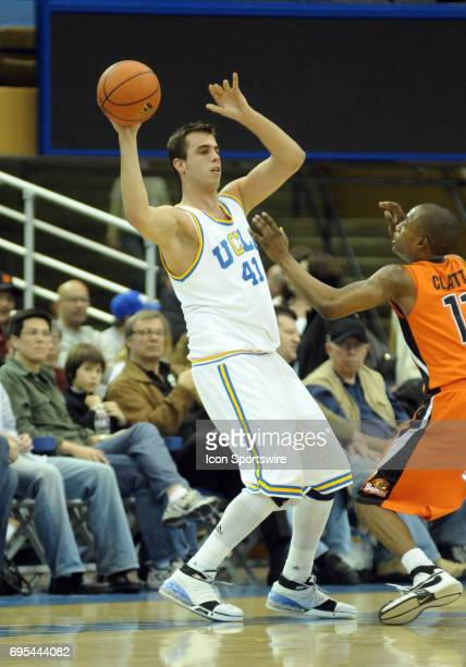 UCLA Nikola Dragovic during an NCAA basketball game featuring the Oregon State Beavers against the UCLA Bruins played at Pauley Pavilion in Westwood...