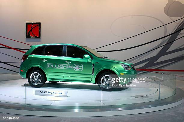 Saturn VUE Plugin Concept This vehicle is expected to be the first regular production plugin hybrid electric vehicle Depending on a consumers drive...