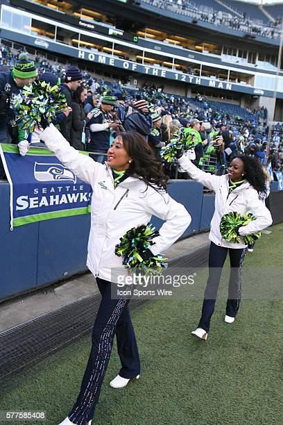 Seattle Seahawks Sea Gals Stock Photos and Pictures ...