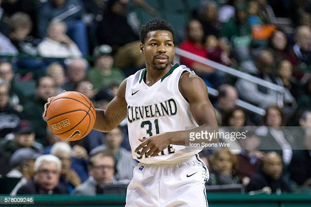 Cleveland State Vikings G Charlie Lee during the game between the Wright State Raiders and Cleveland State Vikings at the Wolstein Center in...