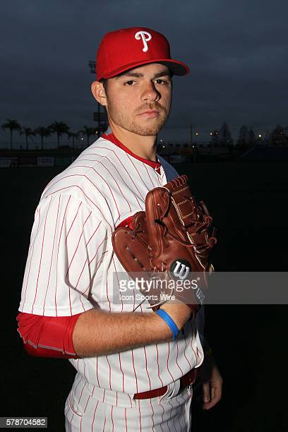Jesse Biddle during the Phillies Photo Day workout at Bright House Field in Clearwater Florida