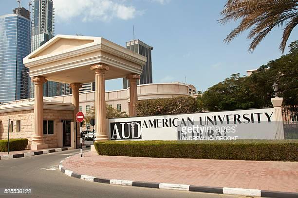 February 22 2012 Entrance to the American University in Dubai