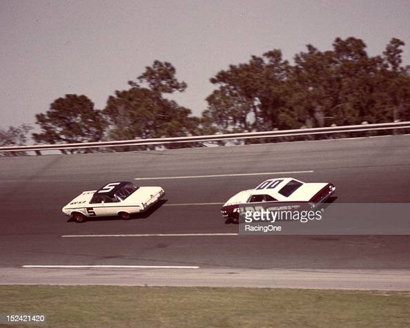 February Jim Paschal Leads A J Foyt During The Daytona Picture Id S X on Nascar Daytona Dan Gurney 12