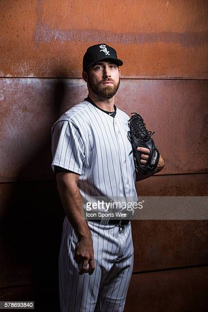Pitcher Zach Putnam poses for a portraits during the Chicago White Sox photo day in Glendale AZ