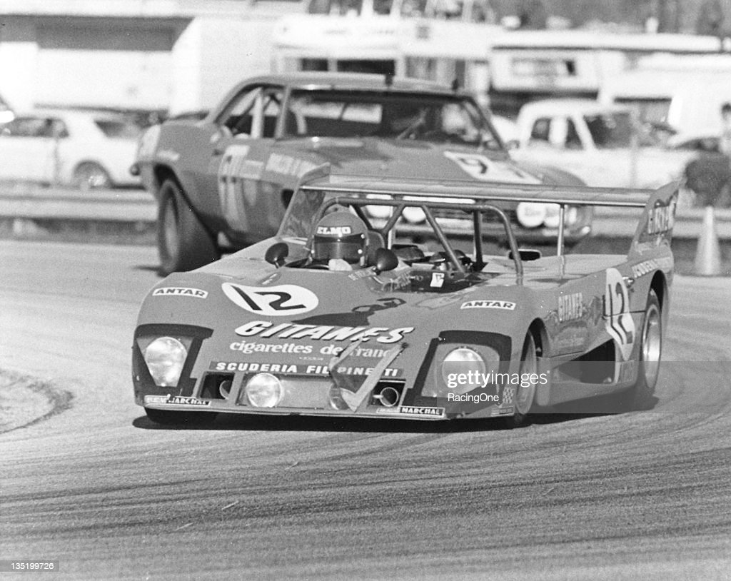 Reine Wisell, Jean-Louis Lafosse and Hughes de Fierlant drove this Lola Ford-Cosworth T282 to a 26th place finish in the 24 Hours of Daytona at Daytona International Speedway.
