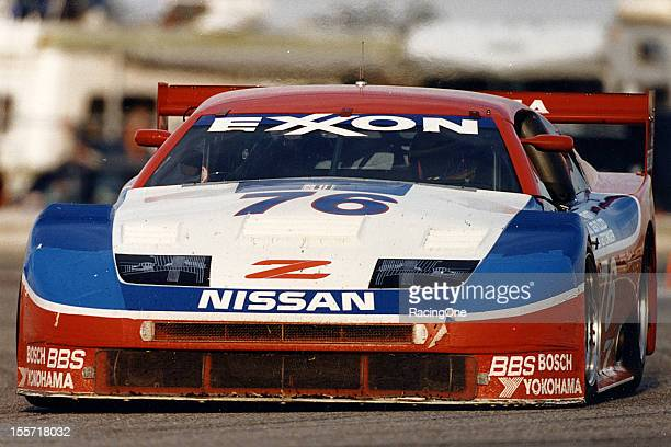 The winning car at Daytona International Speedway for the Rolex 24 at Daytona was this Nissan 300ZX owned by Clayton Cunningham Scott Pruett Butch...