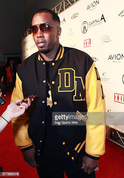 Rapper Diddy walks the red carpet before the Diddy Pre Super Bowl XLV party at the Tower Building in Dallas Texas