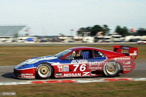 At Daytona International Speedway this Nissan 300ZX owned by Clayton Cunningham won the Rolex 24 at Daytona Codrivers Scott Pruett Butch Leitzinger...