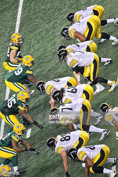 Pittsburgh Steelers quarterback Ben Roethlisberger during the Green Bay Packers victory over the Pittsburgh Steelers by the score of 3125 in Super...