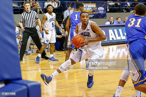 February 9 2015 New Orleans Privateers guard Tevin Broyles during the game between the New Orleans Privateers and the McNeese State Cowboys at...