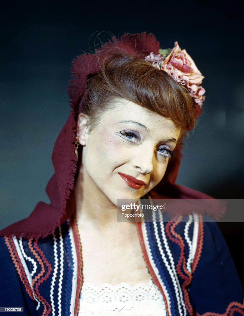 February, 1945, Actress Joyce Redman as Louka in 'Arms and the Man'