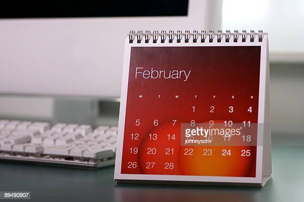 2 月です。