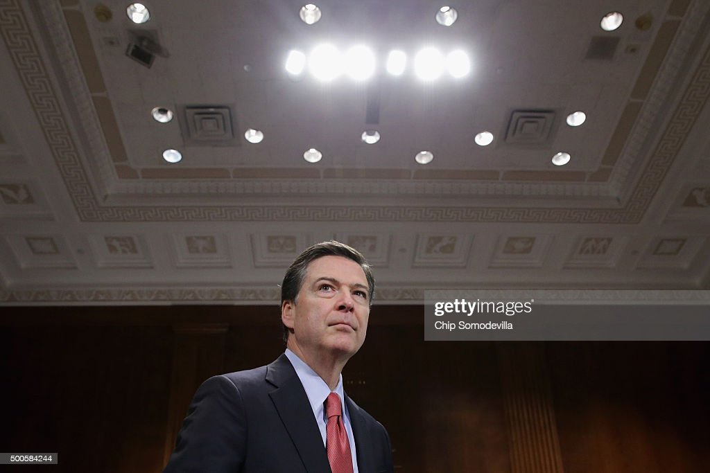 FBI Director James Comey Jr. Testifies To Senate Judiciary Committee On Oversight Of The FBI