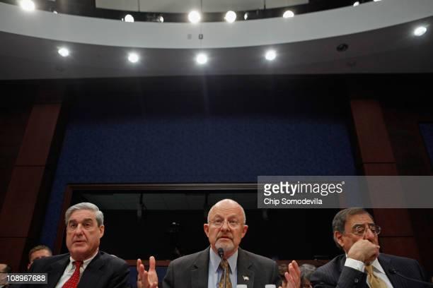Federal Bureau of Investigation Director Robert Mueller Office of National Intelligence Director James Clapper Centeral Intelligence Agency Director...