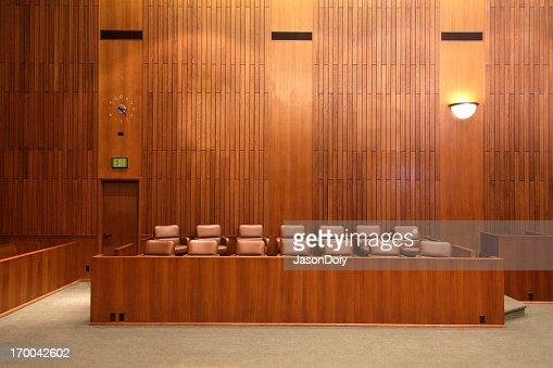 連邦裁判所陪審員席