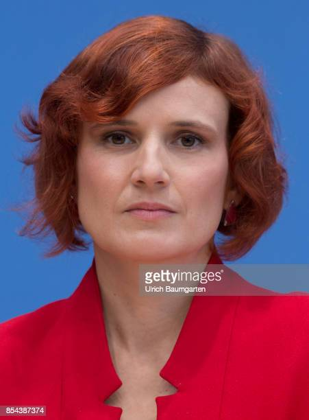 Federal elections 2017 Federal press conference the day after the election Katja Kipping Chairwoman of the Left Party