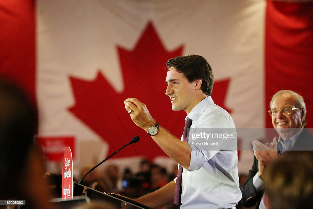 Justin Trudeau Getty Images
