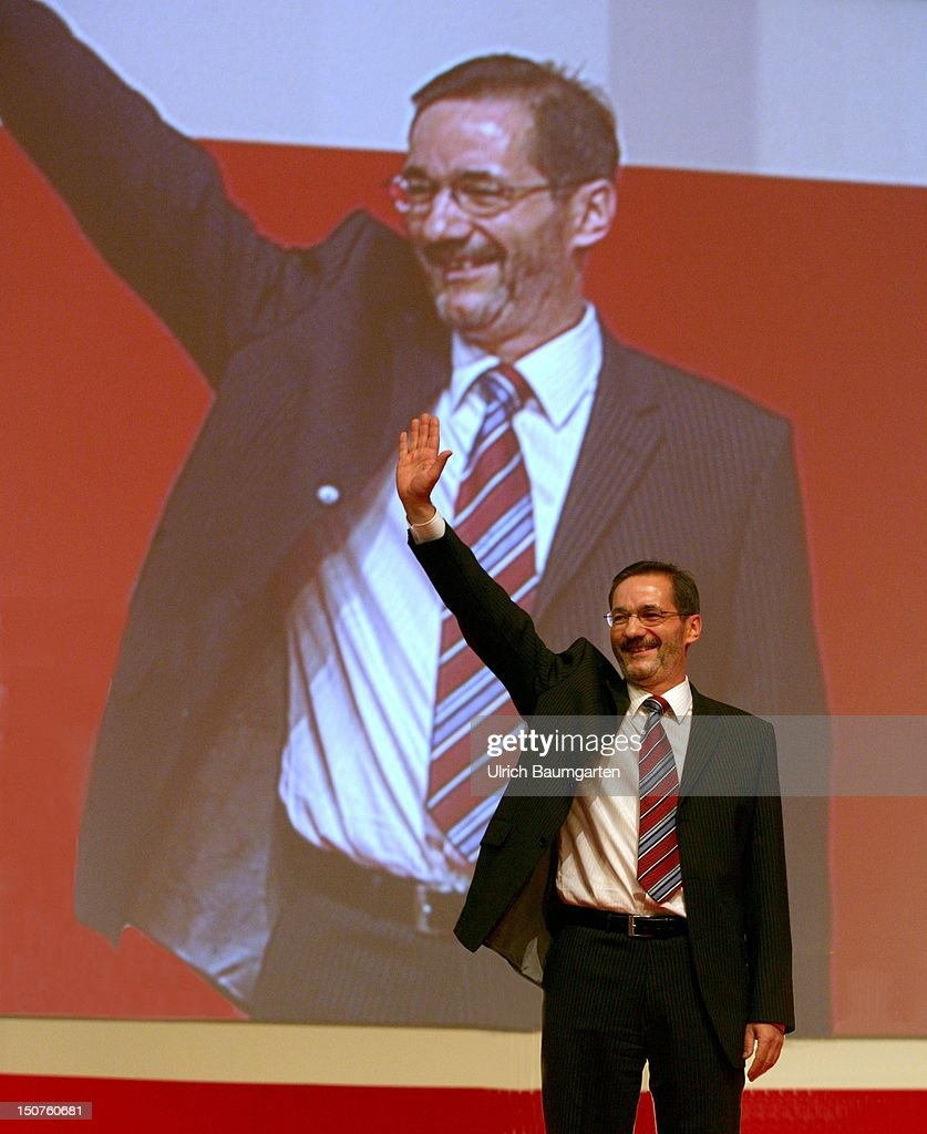 Matthias PLATZECK, newly elected federal party chairman of the SPD.