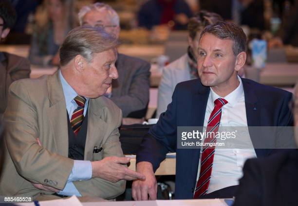Federal Party Congress of Alternative for Germany ArminPaul Hampel and Bjoern Hoecke
