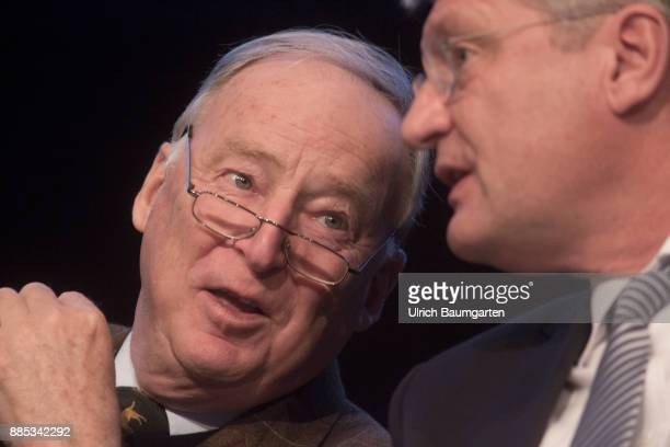 Federal Party Congress of Alternative for Germany Joerg Meuthen and Alexander Gauland Chairmans of the party Alternative for Germany