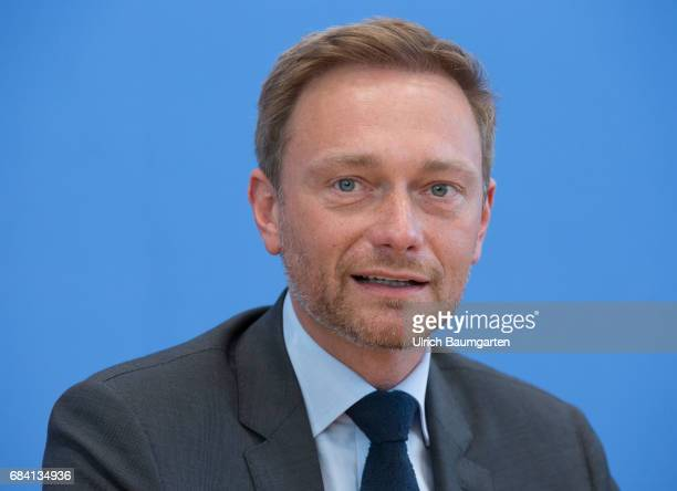 Federal Press onference in Berlin Christian Lindner federal chairman of the FDP