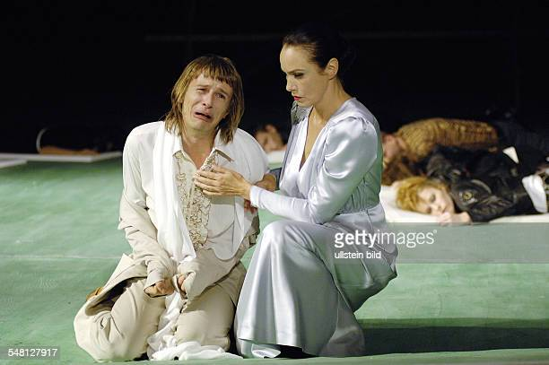 Federal Republic of Germany Berlin theatre Volksbuehne Berlin showing the play Kean according to Alexandre Dumas und Heiner Mueller directed by Frank...