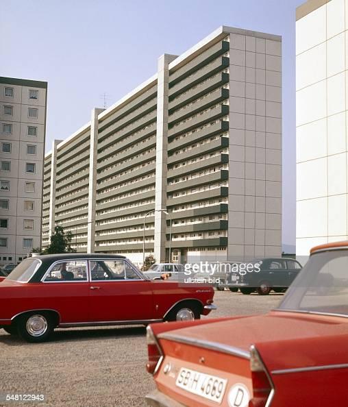 Federal Republic of Germany Saarland Saarbruecken Car parking in a housing estate undated probably 197080 Photographer Wolff Tritschler Vintage...