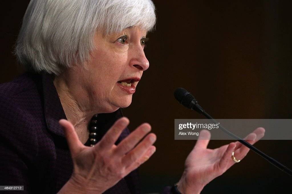 Federal Reserve Board Chairwoman Yellen Gives Semiannual Monetary Policy To Senate Committee