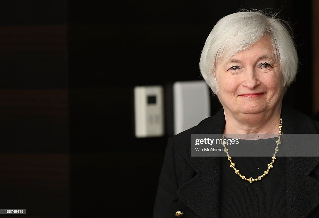 Janet Yellen Holds News Conference On Fed Interest Rate Decision