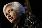 S Federal Reserve Board Chairwoman Janet Yellen delivers remarks December 2 2015 in Washington DC Yellen spoke and participated in a discussion at...