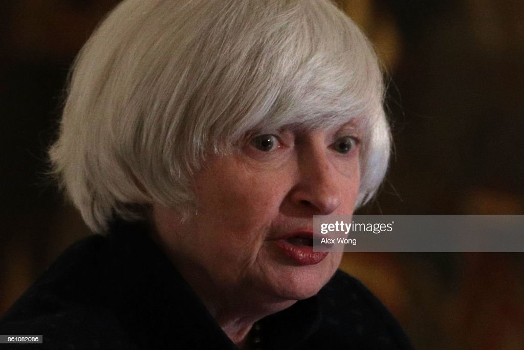 Janet Yellen Delivers Remarks At  National Economists Club's Annual Dinner