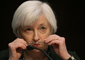 Federal Reserve Chairman Janet Yellen testifies before a Joint Economic Committee hearing on Capitol Hill December 3 2015 in Washington DC The...