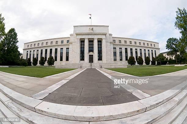 US Federal Reserve Facade