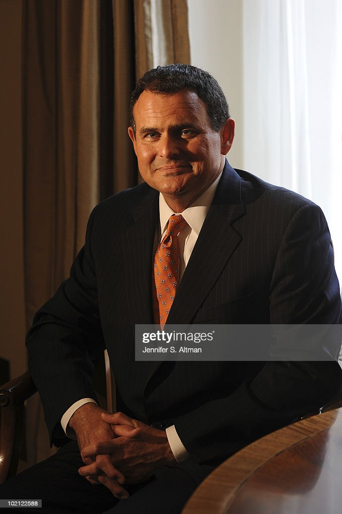 Federal Reserver Bank of New York Chief of Staff Michael Silva is photographed for the Los Angeles Times.