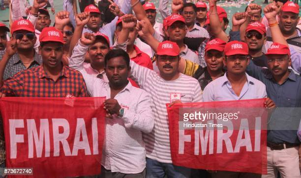 Federation of Medical and Sales Representatives Association of India protest at azad maidan for demanding scrap on No GST on medicine provide cheap...