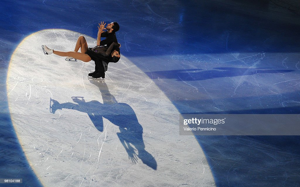<a gi-track='captionPersonalityLinkClicked' href=/galleries/search?phrase=Federica+Faiella&family=editorial&specificpeople=722317 ng-click='$event.stopPropagation()'>Federica Faiella</a> and <a gi-track='captionPersonalityLinkClicked' href=/galleries/search?phrase=Massimo+Scali&family=editorial&specificpeople=722318 ng-click='$event.stopPropagation()'>Massimo Scali</a> of Italy participate in the Gala Exhibition during the 2010 ISU World Figure Skating Championships on March 28, 2010 in Turin, Italy.