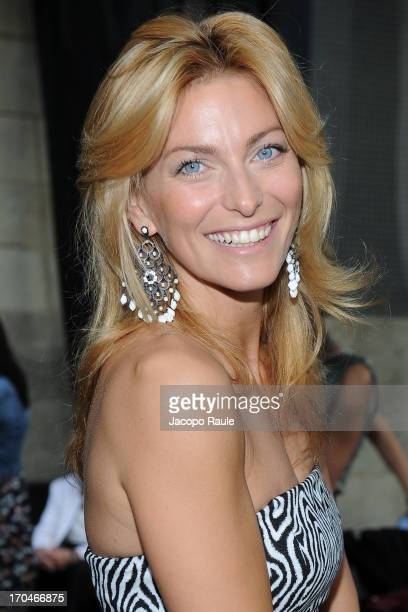 Federica Fontana attends Antica Murrina Unveils G Lace Bracelet on June 13 2013 in Milan Italy