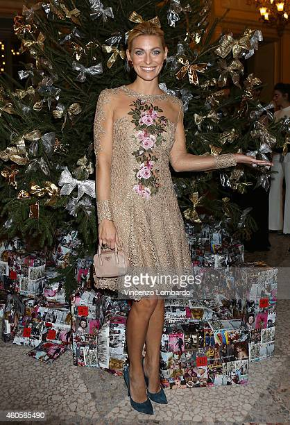 Federica Fontana attends the 'Fondazione IEO CCM' Christmas Dinner For on December 16 2014 in Monza Italy
