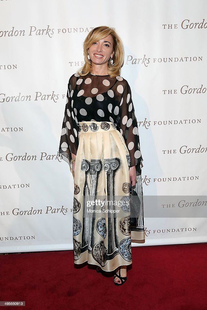 Federica Marchionni attends 2014 Gordon Parks Foundation awards dinner at Cipriani Wall Street on June 3, 2014 in New York City.