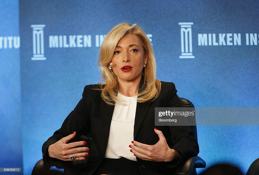 Federica Marchionni, chief executive officer of Lands' End Inc., speaks during the annual Milken Institute Global Conference in Beverly Hills , California, U.S., on Wednesday, May 4, 2016. The conference gathers attendees to explore solutions to today's most pressing challenges in financial markets, industry sectors, health, government and education. Photographer: Patrick T. Fallon/Bloomberg via Getty Images
