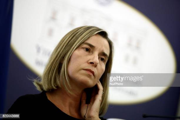 Federica Mogherini high Representative of the European Union for Foreign Affairs and Security Policy and VicePresident of the European Commission...