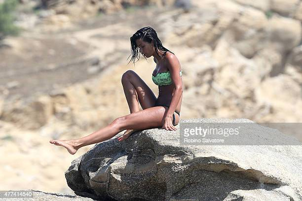 Federica Nargi sighted on June 16 2015 in Mykonos Greece