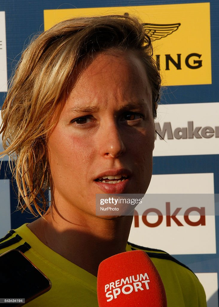 <a gi-track='captionPersonalityLinkClicked' href=/galleries/search?phrase=Federica+Pellegrini&family=editorial&specificpeople=695870 ng-click='$event.stopPropagation()'>Federica Pellegrini</a> during the Swimming Cup 2016 at the Aspria Harbour Club of Milan on june 28, 2016 in Milan, Italy.