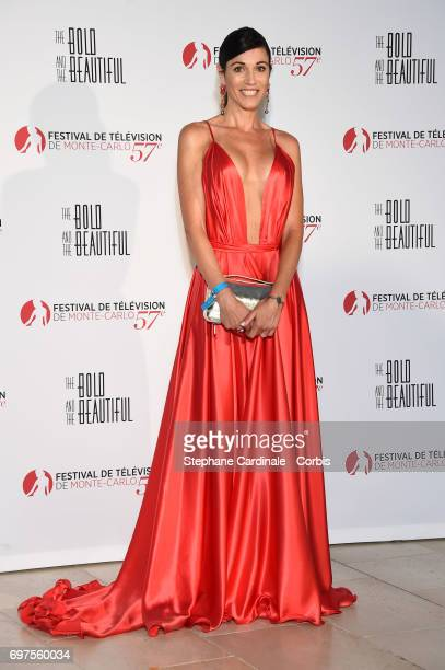 Federica Torti attends the 'The Bold and The Beautiful' 30th Years anniversary during the 57th Monte Carlo TV Festival Day 3 on June 18 2017 in...