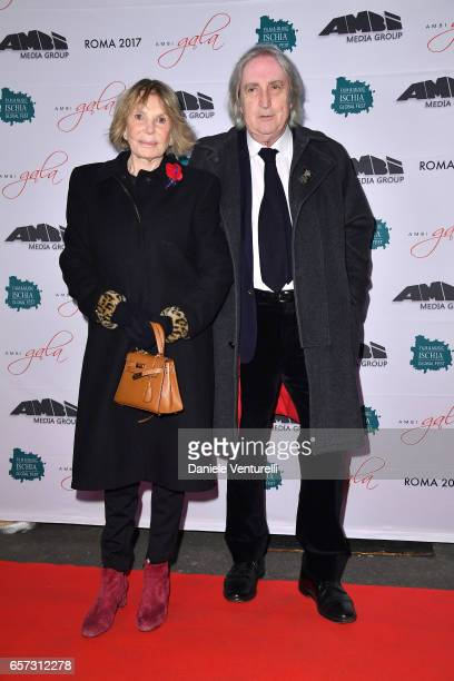Federica Vanzina and Enrico Vanzina attend AMBI GALA In Honour Of Andy Garcia And Bobby Moresco on March 23 2017 in Rome Italy