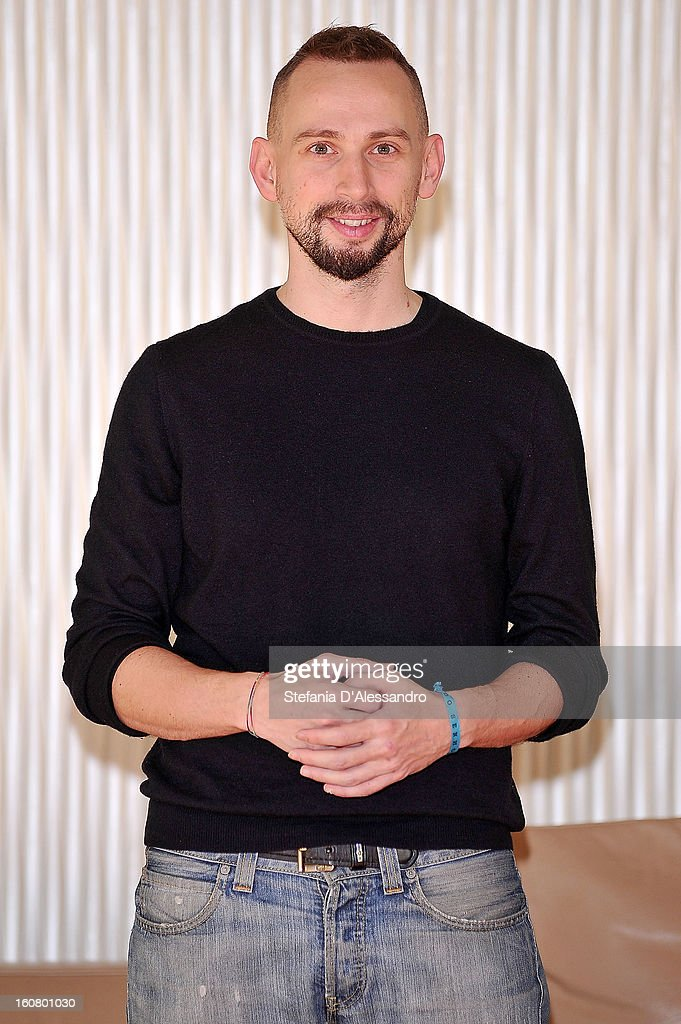 Federico Baccomo attends 'Studio Illegale' Photocall at Terrazza Martini on February 6, 2013 in Milan, Italy.