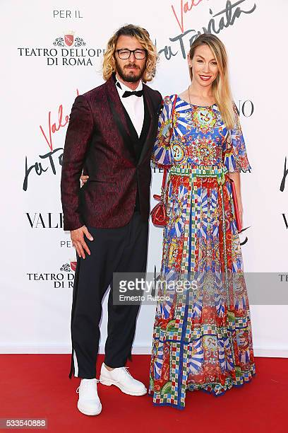 Federico Balzetti and Eleonora Abbagnato attend the 'La Traviata' Premiere at Teatro Dell'Opera on May 22 2016 in Rome Italy