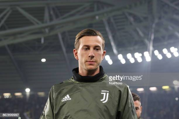 Federico Bernardeschi before the UEFA Champions League football match between Juventus FC and Sporting CP at Allianz Stadium on 18 October 2017 in...