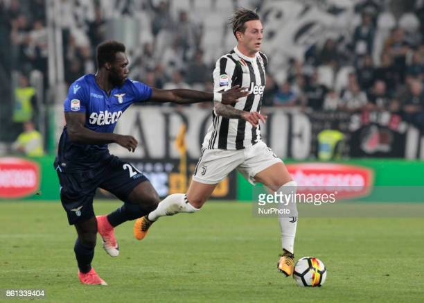 Federico Bernardeschi during Serie A match between Juventus v Lazio in Turin on october 14 2017