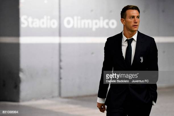 Federico Bernardeschi during the Italian Supercup match between Juventus and SS Lazio at Stadio Olimpico on August 13 2017 in Rome Italy